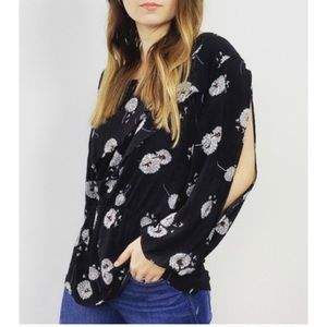 Anthropologie Deletta :: Wished Blooms blouse